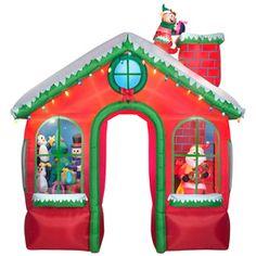 Holiday Living�10.49-ft Animatronic Lighted Presents Christmas Inflatable