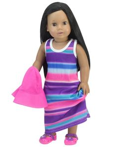"""White Black Navy Red Purple Pink Ivory Tights fit 18/"""" American Girl Size Doll"""