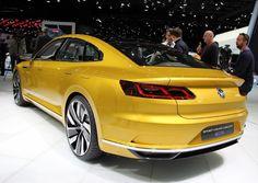 Volkswagen Sport Coupé GTE : le concept hybride à Genève