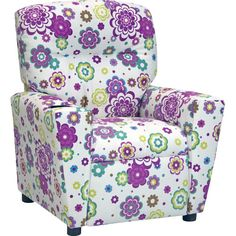Just like your little one, the Kidz World Secret Garden Spring Kid's Recliner brings a breath of fresh air to the room. Herman Miller, Kids Recliner Chair, Swivel Chair, Chair Cushions, Kids Playroom Furniture, White Armchair, Wooden Folding Chairs, Play Kitchen Sets, Plastic Adirondack Chairs