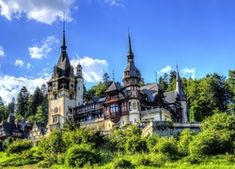 Pałac Peles, Sinaia, Rumunia Barcelona Cathedral, Mansions, House Styles, World, Building, Travel, Viajes, Manor Houses, Villas