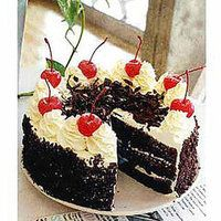 Yummy Vegan Black Forest Cake (I made this and it is amazing! I recommend making double the cream filling, though)