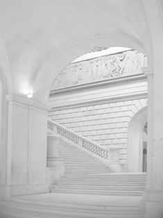 Classical grand staircase. Beautiful.