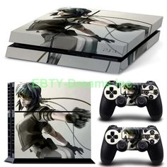 EBTY-Dreams Inc. - Sony Playstation 4 (PS4) - Ghost In The Shell Anime Major Kusanagi Vinyl Skin Sticker Decal Protector