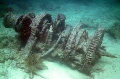 Ship winch - Molasses Reef, Florida Keys