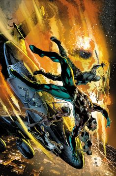 Aquaman and The Othersby Ivan Reis