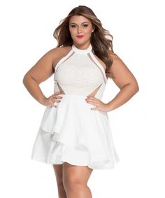 19b1f9030c 12 Best Plus Size Dresses images in 2016 | Lace, Plus size clothing ...