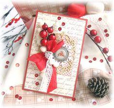 Мой творческий уголок: Еще одна новогодняя открыточка))
