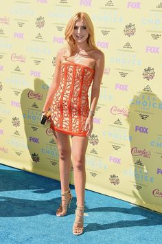 Bella Thorne Teen Choice Awards 2015 | See the top 10 celebs who caught our style eye this week.
