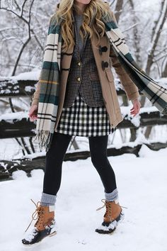 Most AMAZING pattern and texture combination!! // ATLANTIC-PACIFIC // Blair Eadie Snow Outfit Woodstock VT