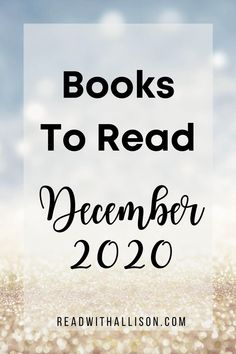 Treat yourself to some downtime with a good book! Here are ten of the hottest new books publishing in December 2020. #bookstoread #mustreadbooks #booklist New Books, Good Books, Books To Read, How To Read More, Book Nerd, Book Publishing, Book Lists, Book Lovers, December