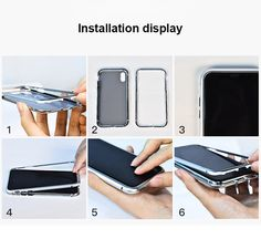 Magneto Magnetic Adsorption Aluminum Frame With Tempered Glass Case For Iphone Iphone Camera, Iphone Phone Cases, Protective Cases, Best Makeup Products, Fashion Accessories, Phone Accessories, Magnets, Samsung Galaxy, Apple
