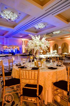 Katherine + Michael January Wedding | Ballroom Reception | Carter Rose Photography @f8studiowedding