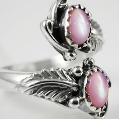 Conch (pink) Pearl ring