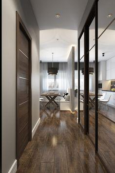 Modern, szép kis lakás fiataloknak, 30m2 egyszerűen berendezve, természetes színekkel - Lakberendezés trendMagazin