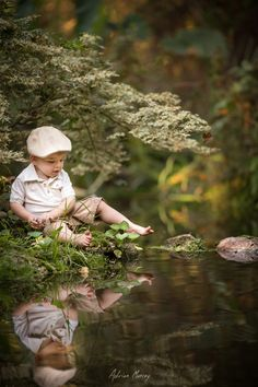 Reflected Toes by Adrian Murray