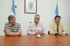 Juan Carlos Tierno, Luis Clara y Roberto Ayala brindaron conferencia de prensa