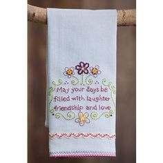 May Your Days Be Full Hand Towel