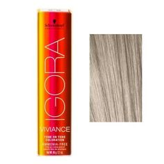schwarzkopf igora viviance tone on tone coloration 95 1 pastel ash blonde - Coloration Revlon