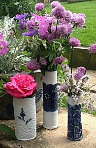 ESCartists 2015 - Sue Winward: Porcelain Artist based in the rolling hills of the Cotswolds