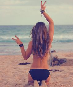 you have to love yourself first. Need to take a picture like this at the beach.