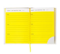 THANKFUL JOURNAL: HELLO YELLOW
