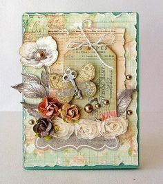 Vintage Cafe Card Challenge on Bloglovin
