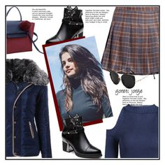"""Check It: Plaid"" by goreti ❤ liked on Polyvore featuring plaid, polyvoreeditorial and rosegal"