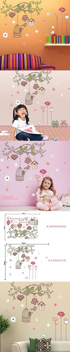 837546533f6 Alrens DIY(TM) Happy Tree Vine Freely Bird House Empty Cage DIY Eco-friendly