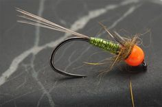 These nymphs are absolutely fantastic for french fishing in low and very clear waters. Materials that I use for this flies: Hooks: the new Maruto D04 HW BL #14 Tails: Co