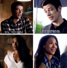 There is no Flash without Iris West! ( 3x07 // 2x21 )