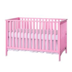 4ff0c995c6f3 Child Craft London 3-In-1 Euro Style Convertible Crib In Pink Convertible  Crib