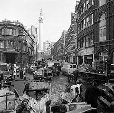 Lower Thames Street, City Of London,  c 1958 John Gay, via English Heritage