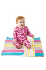 Graphic Baby Blanket