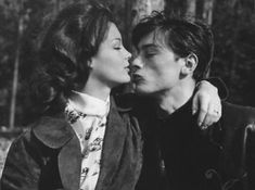 The Magnificent Lovers: 30 Beautiful Vintage Photos of Romy Schneider and Alain Delon in the Late and Early ~ vintage everyday Vintage Vibes, Vintage Love, Vintage Photos, Alain Delon, Romy Schneider, Vintage Flowers Wallpaper, Father Photo, Kahlil Gibran, Vintage Wedding Hair