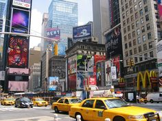 Times Square / Theater District, NYC; July 6, 2007 by Betty Blade, via Flickr