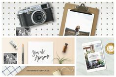 34% Off! Mockup Creator Toolkit by Station Seven on Creative Market