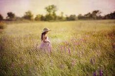 girl in field - Google Search