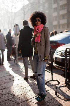Women's casual street style | Julia Sarr-Jamois