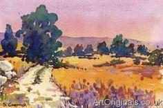 famous watercolor landscape paintings - Google Search