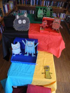 Das Farbenmonster Unsere Monstergalerie