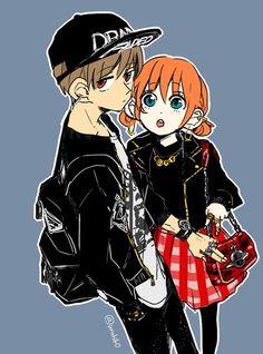 Okita Sougo х Kagura Cute Romance, Okikagu, Me Me Me Anime, Anime Couples, Art Pictures, Illustration, Funny, Ships, Tatoo