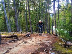 Post work bike rides have begun! Choose route carefully as some snow adventuring may occur. #Biking #MultiSportDays  #OnlyInWhistler #Spring #Adventures : @ninaa2007 by stephball12