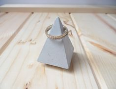 Concrete ring cone, Cement ring holder, ring holders, ring dish, ring storage, diamond ring cone, wedding gift, hostess gift, concrete by CRETEATION on Etsy Concrete Ring, Concrete Color, Cement, Concrete Materials, Ring Storage, Sponge Holder, Ring Dish, Hostess Gifts, Ring Holders