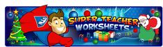 Super Teacher Worksheets a great site for math and language arts worksheets.