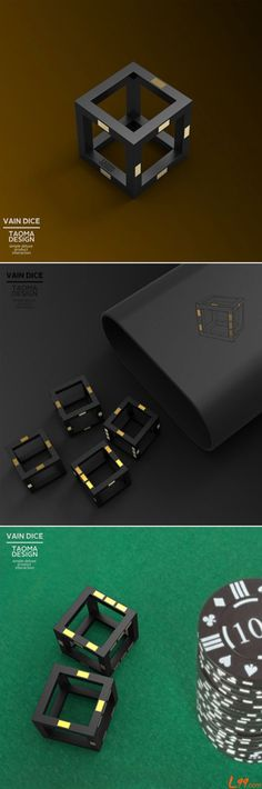 The dice was designed by  TAOMA.