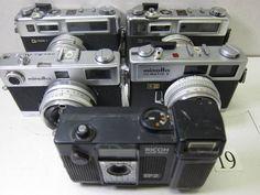 FC5-810LA ヤシカ等フィルムカメラ 5台セット ジャンク_画像1