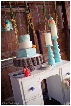 Turquoise wedding colors