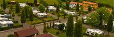 Panorámica del Camping la Rasa en Villaviciosa Asturias