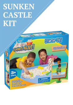 Start your sandy experience with a complete Sands Alive Sunken Castle starter kit. :)